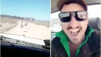Man who filmed himself mowing down emus charged after huge hunt