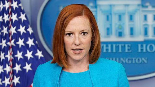 White House Press Secretary Jen Psaki said there's about 12 people who are producing 65% of anti-vaccine misinformation on social media platforms.