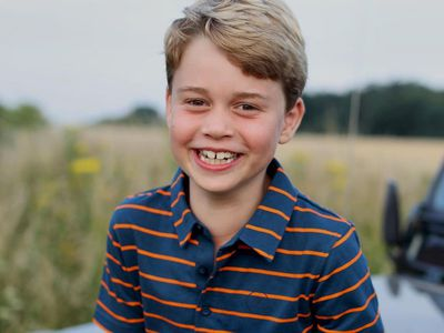 Prince George beams in 8th birthday photo, July 2021