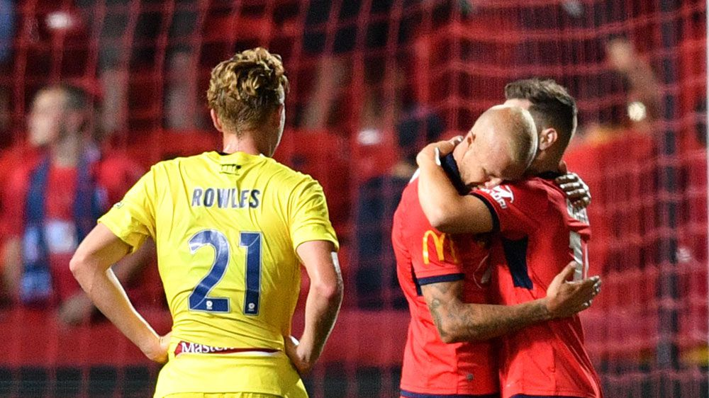 Reds outlast the Mariners in A-League