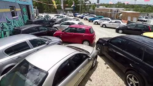 She has had a car yard for a neighbour for the past 40 years.