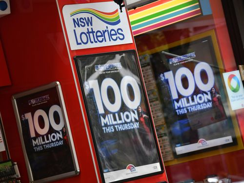 Powerball Lotto 100m win