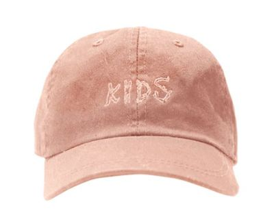 "<a href=""https://thekidssupply.com/products/kids-embroidered-hat-blush"" target=""_blank"" draggable=""false"">Kids Embroidered Hat in Blush Washed Cotton Twill, $35 US.</a>"