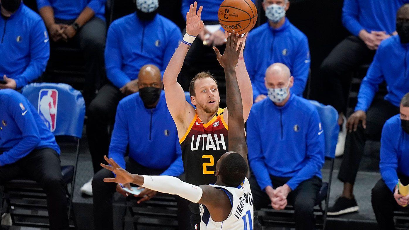 Joe Ingles breaks Utah Jazz all-time three-point record in dominant win over Dallas Mavericks