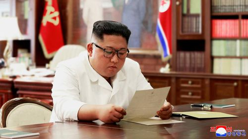 North Korean leader's 'interesting' letter from Donald Trump