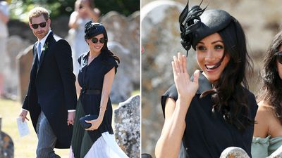 <strong>Meghan attends friend's wedding on her 37th birthday</strong>
