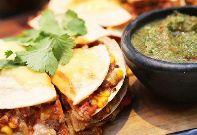 """Recipe:&nbsp;<a href=""""/recipes/ibeef/8864097/mexican-tortilla-stack"""">Mexican tortilla stack</a>"""