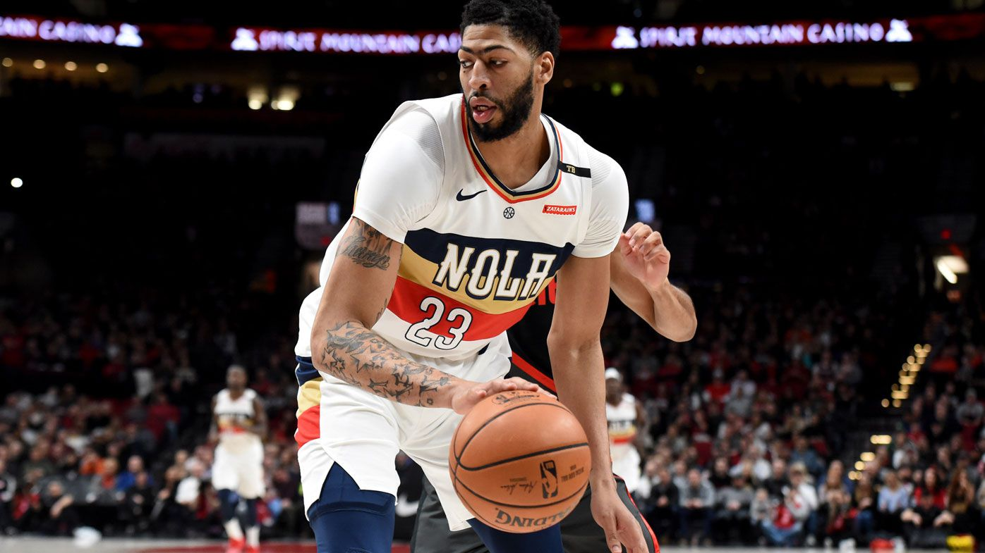 Nba Anthony Davis Asks For Trade From New Orleans Pelicans