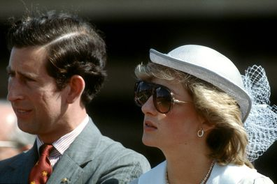 Charles and Diana in Australia.