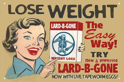 <strong>1912 - The tapeworm diet</strong>