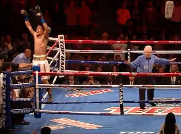 Referee blunder costs boxer shot at KO victory