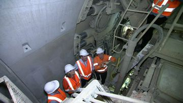 Worker fighting for life after airport tunnel accident