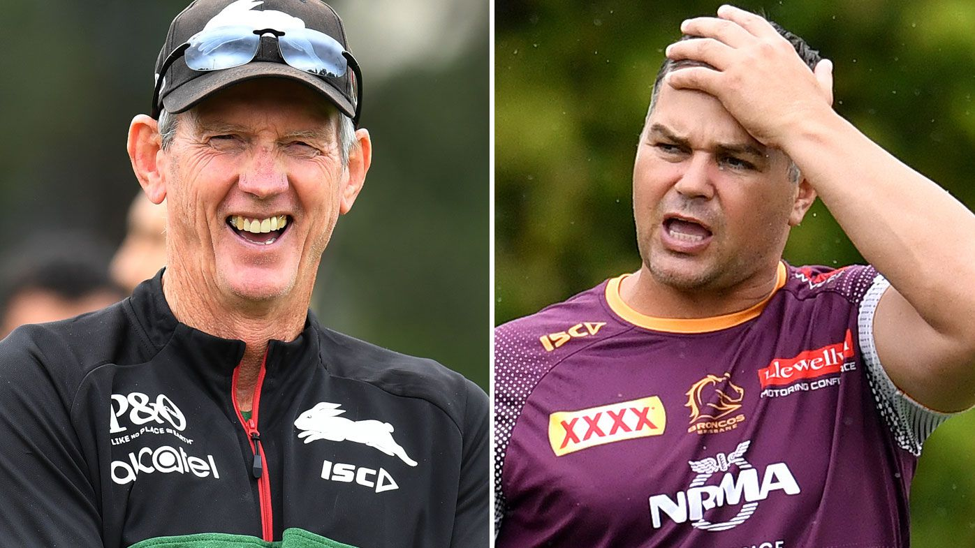 Broncos great Gorden Tallis says Seibold could take a trick from Wayne Bennett