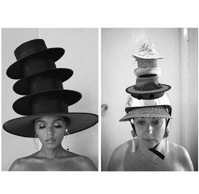 """<p>Janelle Monae</p> <p>""""Any more would just be silly""""</p>"""