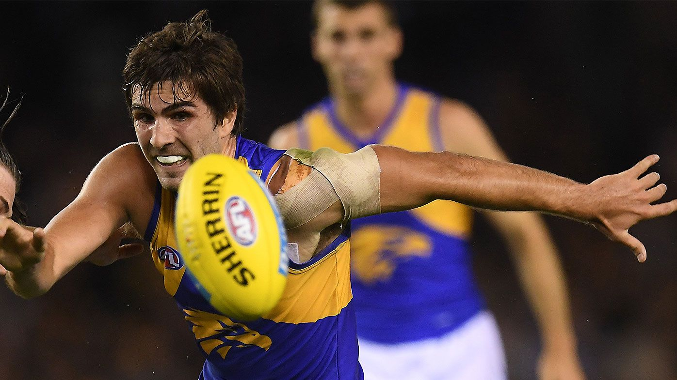 West Coast Eagles 'fearful' of Andrew Gaff joining Essendon