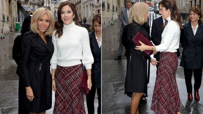 Princess Mary Paris Day 3 Brigitte Macron