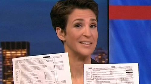 Rachel Maddow infuriates viewers with drawn out intro of Trump tax story