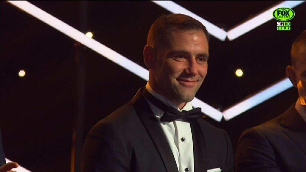 Smith wins 2017 Dally M player of the year