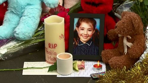 Ten-year-old Bourke Street victim farewelled at private funeral
