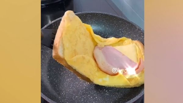 TikTok egg toastie praised as genius