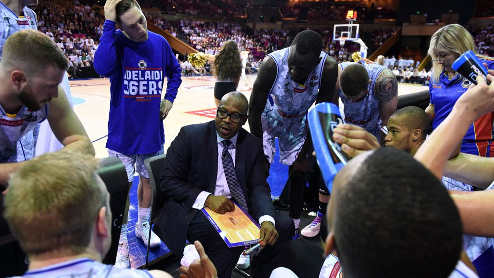 36ers coach Joey Wright.(AAP)