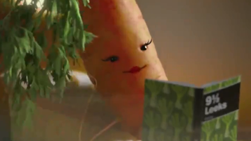 Carrot tops UK Christmas ads