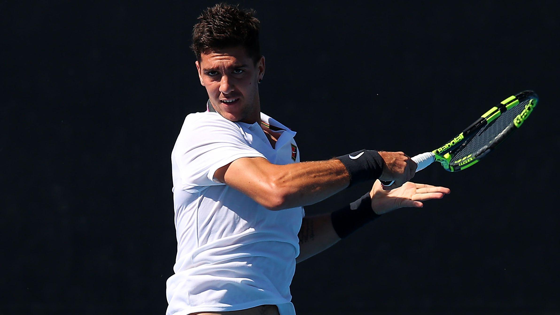 Thanasi Kokkinakis refutes feud with Lleyton Hewitt after qualifying for Australian Open