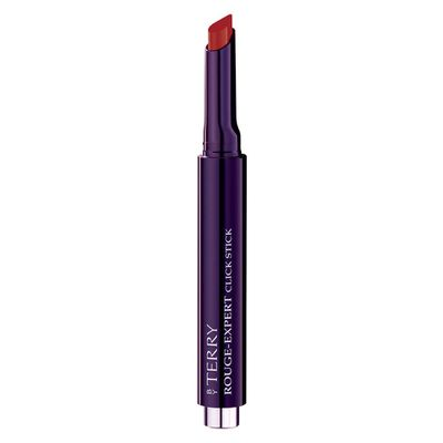 """<a href=""""https://www.mecca.com.au/by-terry/rouge-expert-click-stick/V-024784.html"""" target=""""_blank"""" draggable=""""false"""">By Terry Rouge Expert Click Stick in Crimson Click, $53</a><br />"""