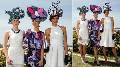 Ladies on step out at Flemington Racecourse (Getty).