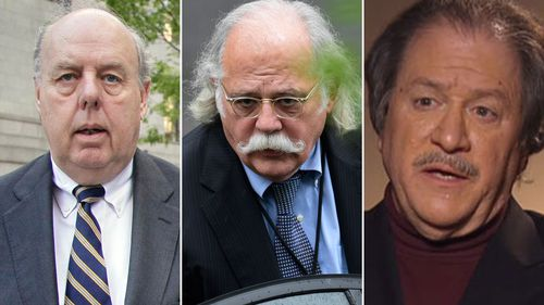 Former Trump lawyers John Dowd, Ty Cobb and Joseph DiGenova. (AAP)