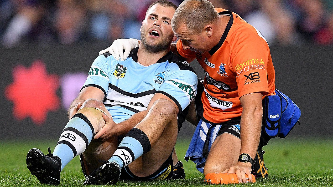 Cronulla Sharks backrower Wade Graham suffers torn ACL injury