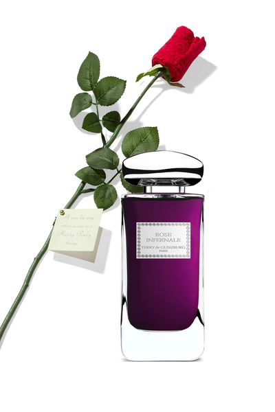 """<a href=""""http://mecca.com.au/by-terry/rose-infernale-edp/I-020243.html?cgpath=fragrance-personalfragrance#sz=36&start=253"""" target=""""_blank"""">Rose Infernale, $280 (100ml, EDP), By Terry</a>"""