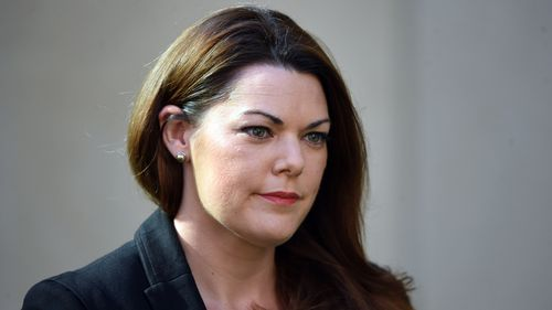 Greens senator Sarah Hanson-Young hails defamation win over men's magazine as 'stand against sexism'