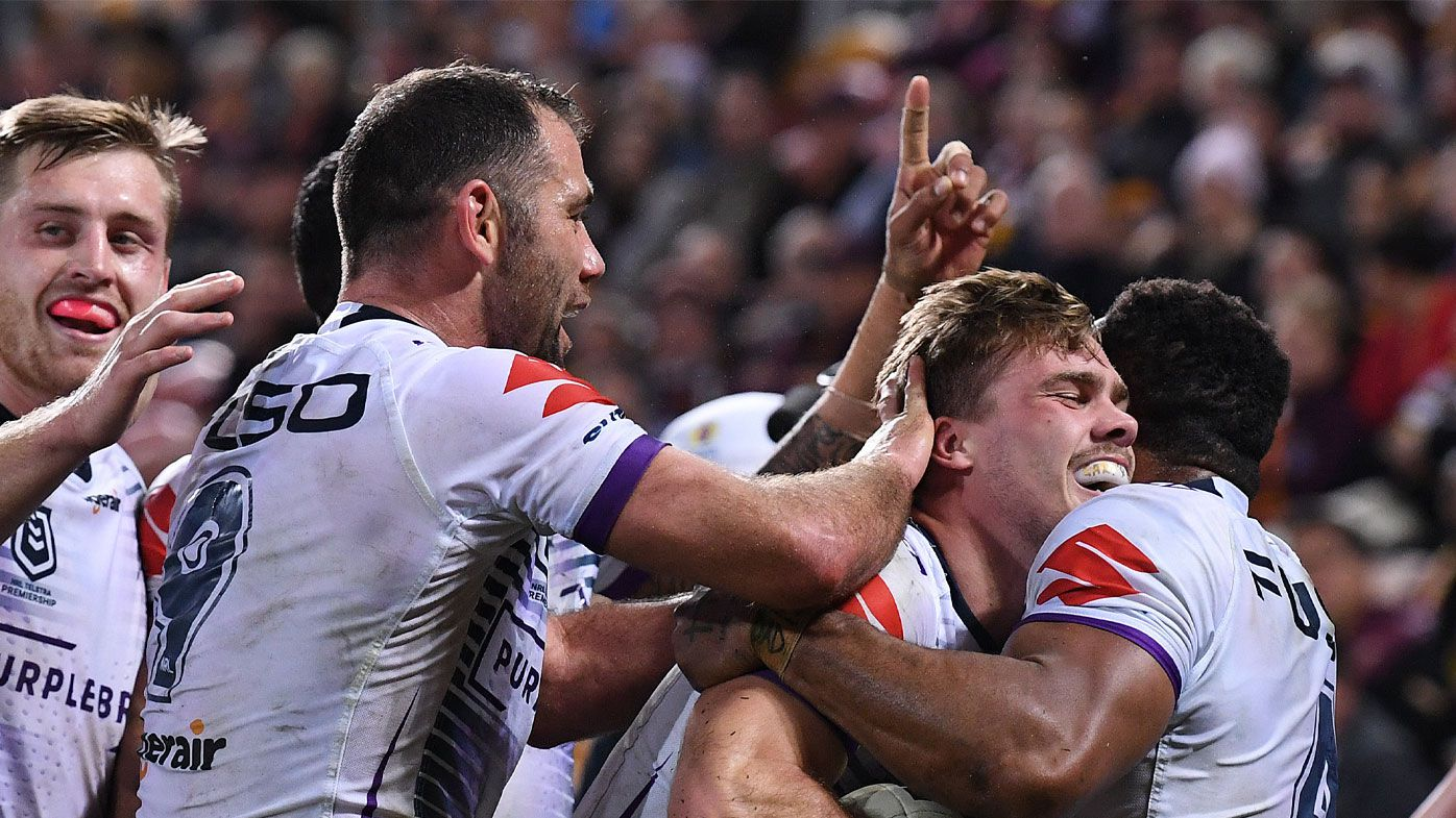 The Storm romped past Brisbane in Queensland