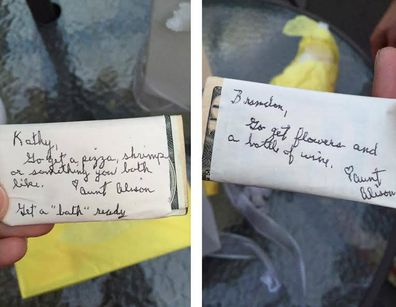 Couples wait nine years to open mystery wedding gift containing 'secret' to a happy marriage