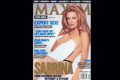 """After the Playboy party, Melissa went to a <i>Maxim</i> photoshoot smashed. Explaining to <i>Life and Style</i> that it was her """"third or fourth time on ecstasy.""""<br/><br/>(Image: <i>Maxim</i>)"""