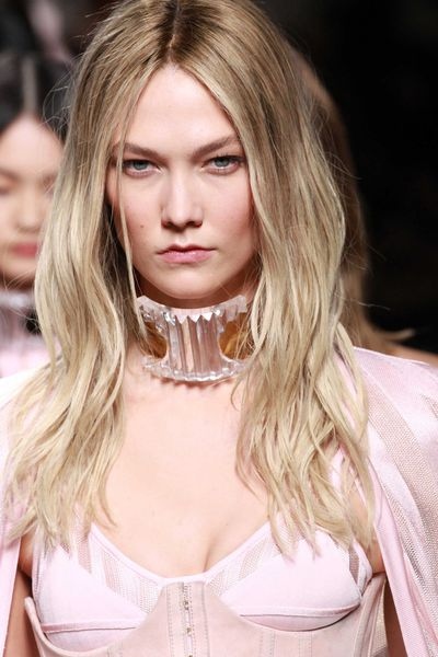 Karlie Kloss went long and blonde