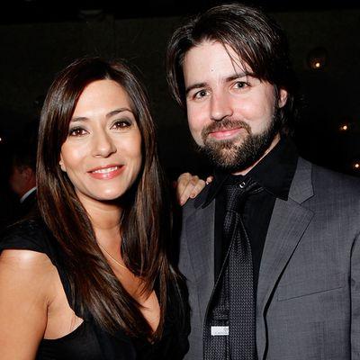 Marisol Nichols and Taron Lexton