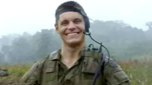Former Australian Army reservist Ashley Johnston. (Supplied)