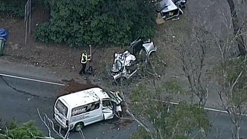News Victoria Warburton Highway three car crash driver killed