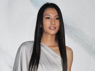 Ashina Sei at the Chanel show  2010 in Tokyo, Japan
