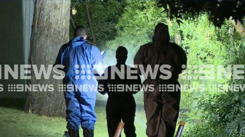 Police were called to the Barmah property overnight.