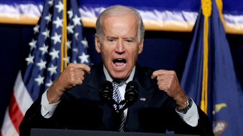 The man with the potential to shake-up the race, Vice President Joe Biden. (AAP)