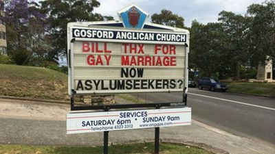 Bill Shorten's new support of gay marriage is praised, but Fr Bower feels the Labor leader's asylum seeker credentials are still lacking.