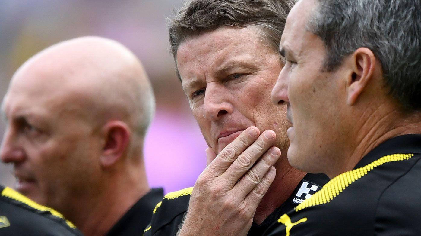 Tigers' finish in AFL win worries Hardwick