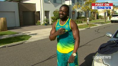 Aussie weightlifter's hard-won Comm Games medal stolen