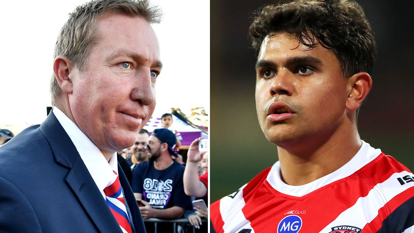 'We've got to move on': Trent Robinson lifts lid on infamous Latrell Mitchell meeting