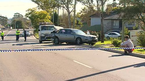A woman and a child suffered minor injuries. (9NEWS)