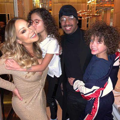 Mariah Carey, Nick Cannon, Morrocan and Monroe