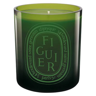 "Diptyque Figuier Green, $111 from <a href=""https://www.mecca.com.au/diptyque/figuier-verte-candle/I-012728.html?cgpath=fragrance-home-candles#start=1"" target=""_blank"">Mecca</a>"
